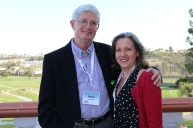 Allegheny Mountain District President Hank Hughes and Caroline
