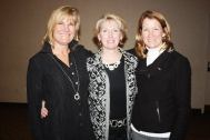 Joy Riley, Lani Ward and Cathy Shaak at the Central Pennsylvania District Awards Ceremony