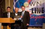 Pascal Collard, Nick Bollettieri and Jeff Harrison at the Down the Line and Beyond Gala in March