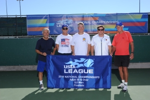 The 55 and Over 9.0 men's team from Manasquan, N.J. Players include: George Loesch, James Cappiello (Captain), Peter Eno, Stephen Van Voorhis, James Axt, Robert Abbot